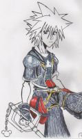 Sora again by DemyxOrgIX