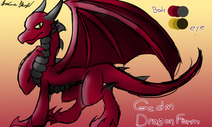 Gc Dragon Form Referance Sheet by SpeedyandRose