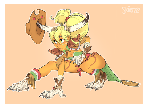 Berserker Applejack by Skirtzzz
