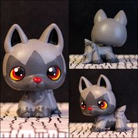 Poochyena Littlest Pet Shop custom