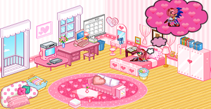 Pixel rooms- Amy Rose by Congo-Love-Line