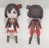 AKB48 - Acchan Papercraft by drawwithme15
