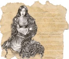 Lay of Leithian: Luthien by melime6