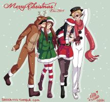 Merry Christmas 2014 by shock777