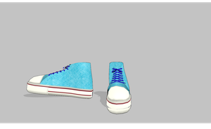 MMD High-tops by amiamy111