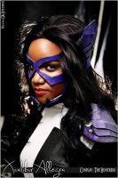 Helena Wayne - The Huntress Cosplay Portrait photo by thetenten16