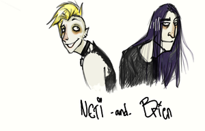 Neti and Brien by FinnishVampire