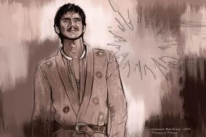 Oberyn Martell, Prince Of Dorne by Veronica-Art