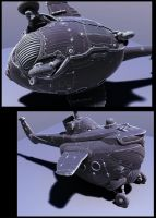chopper hipoly wip by sittingducky