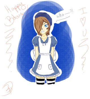 Will (Alice Madness crossover)  for Bumbie by seoungfannie