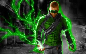 Cole MacGrath Green Lantern by 666Darks