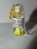Endometriosis Awareness Necklace by Secretvixen