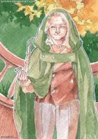 Bilbo Baggins ACEO by saniika