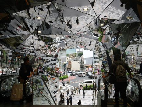 Mirror Escalator by InternetScout