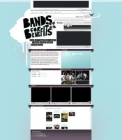 Myspace: Bands For Benefits by stuckwithpins