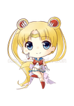 Sailor Moon chibi by Candy-Arts