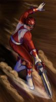Mighty Red by avidcartoonfans