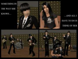 Beatles Girl Sims 2 by WhiteButterflyFilms