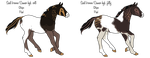 Seal brown - Cameo foals and genos by Qavvikk