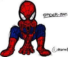 Spider-Man -sketchy- by Gabe27C