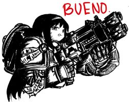 BUENO by COMMISSAR-NYORON