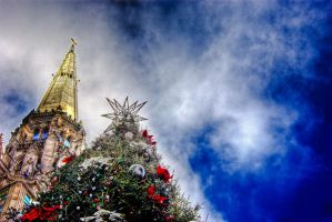 Chicago Christmas Tree by spudart