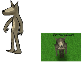Survivalcraft: Werewolf (not blocky) by Lumios-deviantart