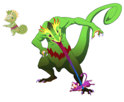 Kecleon- No escape from the tongue!