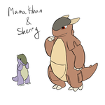 BSC- Mama Khan and Sherry by ZannyHyper