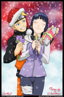 NaruHina - Merry Chrismas by goku003