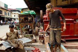 metal fabrication workers streets of PP by watto58