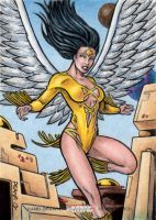 DC: Women of Legend - Dawnstar by tonyperna