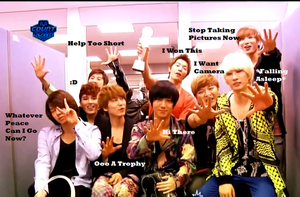 Suju's Reaction To Awards- Macro by SungminHiroto