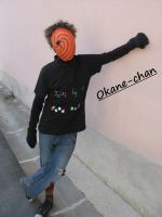 Tobi civilian cosplay 4 by Okane-chan