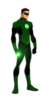DC New 52:Green Lantern Animated by kyomusha
