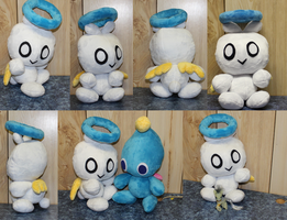 Hero Chao Plushie by ShiloT