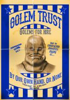 Golem Trust Poster by funkydpression
