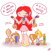 Daddy's Little Champion by PrincessCallyie