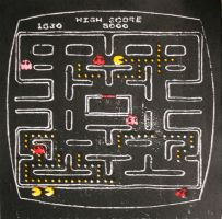 Pac-Man -Arcade, 1979- by reusdesigns