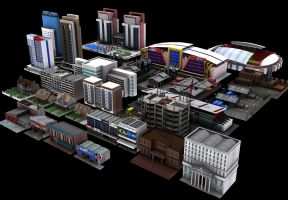 new city model by dwiirawan
