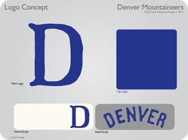 Colorado Rockies 1901 Logos by JimmyNutini