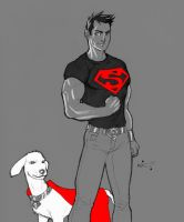 Titanic Four: Superboy Redux by micQuestion
