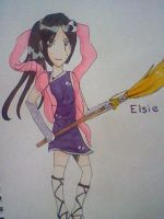 Elsie Comission by buttfabric