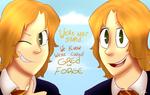 Fred and George Weasley by fernasonic
