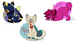 Chibi batch 6 :pc: by curdled-CHEESE