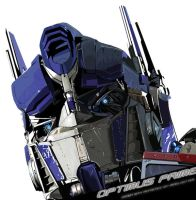 Optimus Prime by panelgutter