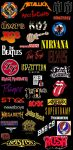 Classic Rock Revolution Logos Stocking Stride by EspioArtwork