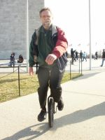 Unicycle Guy by ANDREW115342