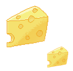 Crappy Pixel Art - CHEESE. by x-Tsuka-x