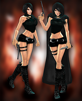 Lara Demon Hunter DL by ZayrCroft